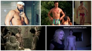 Male actors naked Celeb Penis